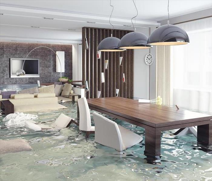 Water Damage Faster to your Central Illinois Water Damage Event